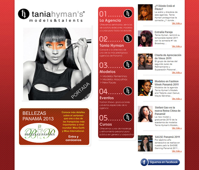 Tania Hyman´s Models and Talents
